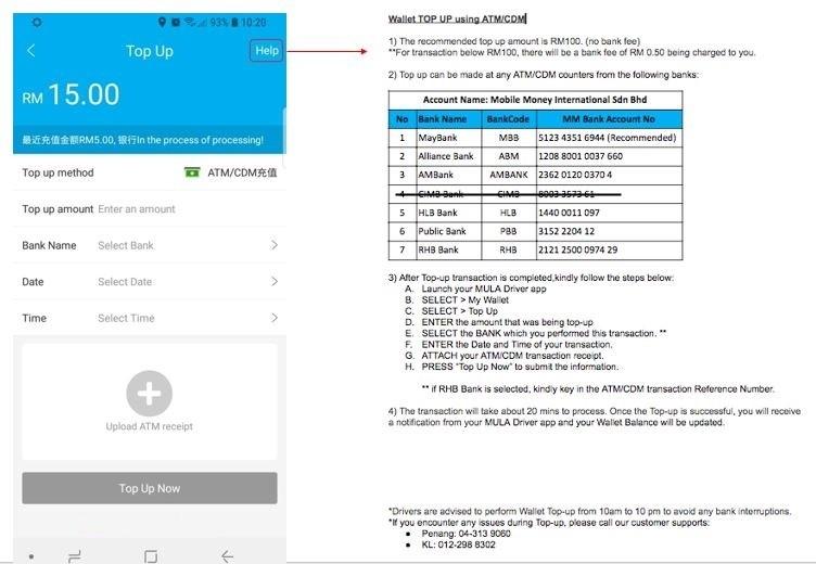 MULA Driver Wallet Update | MULA Car International