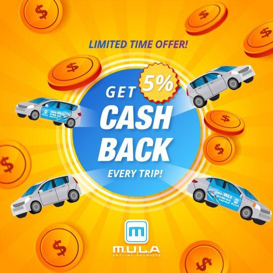 Mula Car Cash Back 2021-01