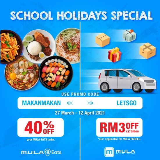 School Holidays Promo 40%-FB